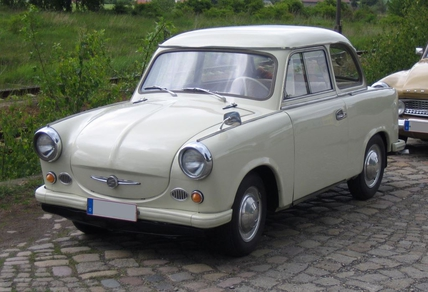 The original Trabant P50 (from 1957-62)
