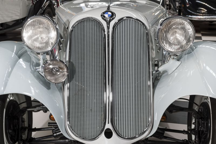 Rare classic: a BMW 319 from the mid-1930s.