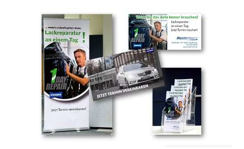 Standox 1 DAY REPAIR Marketingpaket