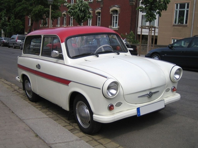 Trabant 600 (from 1962-64)