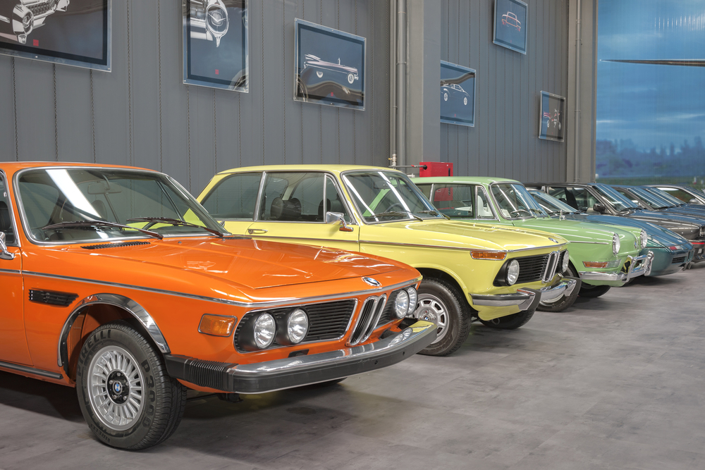 BMWs in KEY Museum