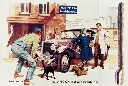 """Standox solves all problems"" was the message."