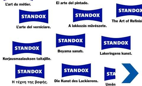 Standox in countries all around the world