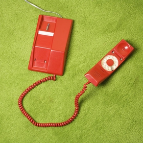 The Moscow-Washington hotline  red telephone in a civilian version for normal citizens