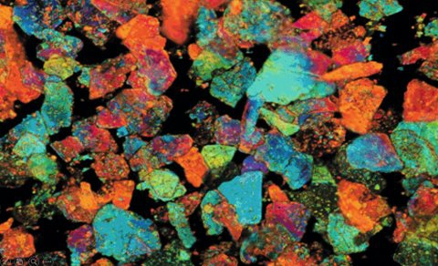 Pearlescent Car Paint >> Pigments under the microscope