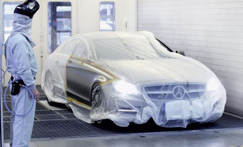 Refinishing in a single-step process offers bodyshops a significant gain in efficiency.
