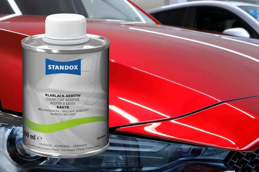 Standox offers new clearcoat additive for Mazda 46V Colour