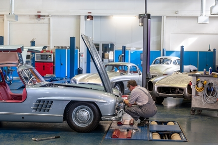 Mercedes-Benz Classic Center in Fellbach