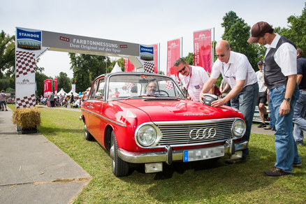 Classic Days 2014 Standox Frabtonmessung