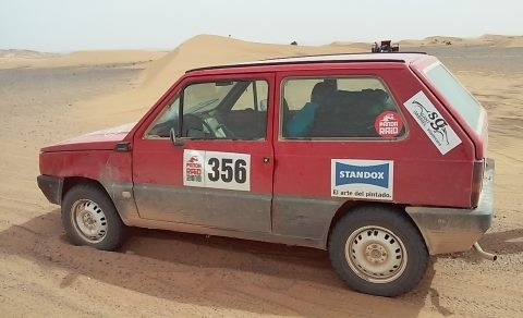 Rally amateur de larga distancia PandaRaid