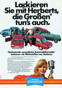 Blonde Standoxy appeared on posters around 1970