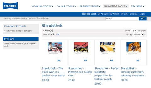 Standothek guides now available from Standoshop