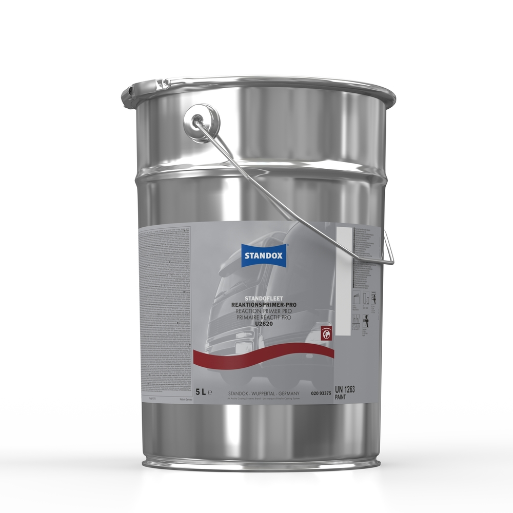 standox expands its commercial vehicle paint system with