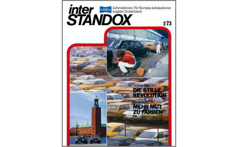 1972: Introduction of the 2K-Standocryl automotive refinishing paint.