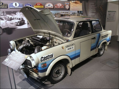 Ralley-Trabant P800 RS (anni 1986-1988)