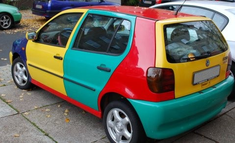 The Harlequin Polo from Volkswagen