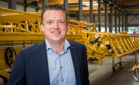 Koos Spierings, Commercial Director Spierings Mobile Cranes B.V.