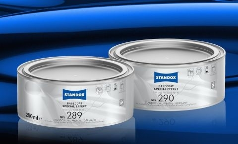 Standox launches two new special effect mixing tints